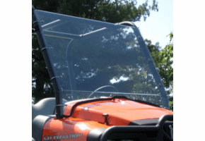 Falcon Ridge Full Front Lexan Windshield - Club Car XRT1550