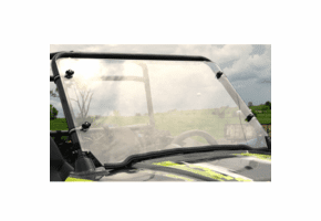 Falcon Ridge Full Front Lexan Windshield - Polaris RZR 170
