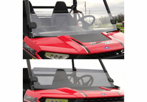 Falcon Ridge Half Front Windshield - Polaris Ranger 150