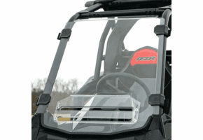 Falcon Ridge Hard Coated Aero-Vent Front Windshield - Polaris RZR RS1