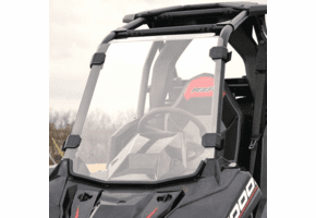Falcon Ridge Hard Coated Full Front Windshield - Polaris RZR RS1