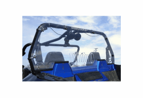 Falcon Ridge Hard Rear Window - Textron Wildcat Trail | Sport
