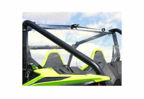 Falcon Ridge Hard Rear Windshield - Honda Talon 1000