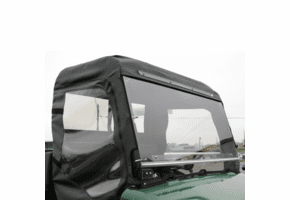 Falcon Ridge Hinged Front Windshield - Bush Hog Trail Hand 4400