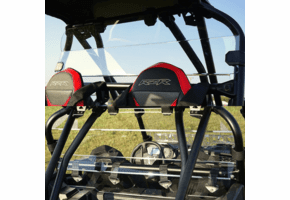 Falcon Ridge Lexan Rear Windshield - Polaris RZR XP Turbo S