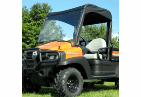 Falcon Ridge Lexan Windshield, Top and Rear Window - Bobcat 2200