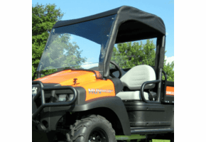 Falcon Ridge Lexan Windshield, Top and Rear Window - New Holland Rustler 120 | 125