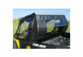 Falcon Ridge Slide-N-Ride Doors and Rear Window - Can Am Maverick