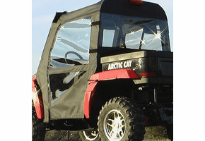 Falcon Ridge Soft Doors and Rear Window - 2006-11 Arctic Cat Prowler w| Square Bars