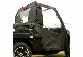 Falcon Ridge Soft Doors and Rear Window - 2012-14 Arctic Cat Prowler w| Round Bars