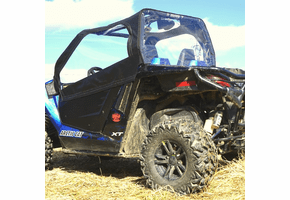 Falcon Ridge Soft Doors and Rear Window - Arctic Cat Wildcat Trail | Sport
