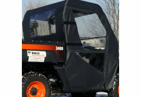 Falcon Ridge Soft Doors and Rear Window - Bobcat 2200 | 3400