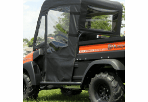 Falcon Ridge Soft Doors and Rear Window - Club Car XRT1550