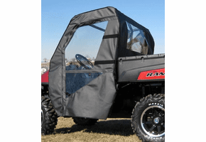 Falcon Ridge Soft Doors and Rear Window - Full Size Polaris Ranger