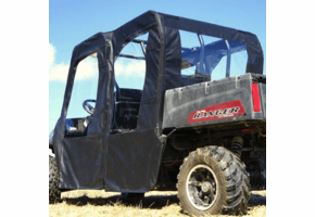 Falcon Ridge Soft Doors and Rear Window - Full Size Polaris Ranger Crew