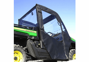 Falcon Ridge Soft Doors and Rear Window - John Deere Gator