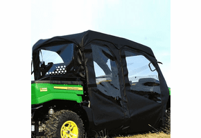 Falcon Ridge Soft Doors and Rear Window - John Deere Gator S4 Crew