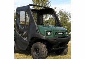 Falcon Ridge Soft Doors and Rear Window - Kawasaki Mule 3000 | 3010 | 4000 | 4010
