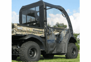 Falcon Ridge Soft Doors and Rear Window - Kawasaki Mule 600 | 610