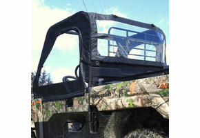 Falcon Ridge Soft Doors and Rear Window - Kawasaki Mule Pro-MX