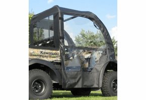 Falcon Ridge Soft Doors and Rear Window - Kawasaki Mule SX