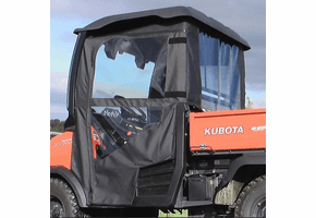 Falcon Ridge Soft Doors and Rear Window - Kubota RTV