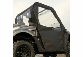 Falcon Ridge Soft Doors and Rear Window - Kymco UXV 450 | 500 | 700