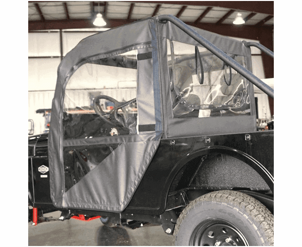 Falcon Ridge Soft Doors and Rear Window - Mahindra ROXOR