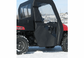 Falcon Ridge Soft Doors and Rear Window - Mid Size Polaris Ranger