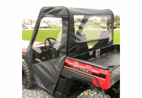 Falcon Ridge Soft Doors and Rear Window - Polaris Ranger 150