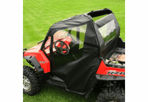 Falcon Ridge Soft Doors and Rear Window - Polaris RZR 570 | 800 | S 800 | XP 900