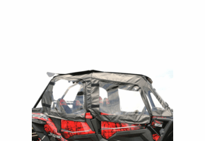 Falcon Ridge Soft Doors and Rear Window - Polaris RZR XP 4 1000 | XP 4 Turbo