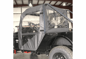 Falcon Ridge Soft Doors, Rear Window and Top |No Windshield| - Mahindra ROXOR