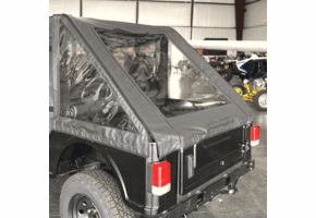 Falcon Ridge Soft Rear Cargo Cover - Mahindra ROXOR