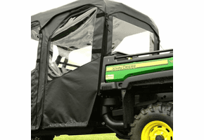 Falcon Ridge Soft Rear Doors and Rear Window - 2013-17 John Deere Gator XUV 825i S4 Crew | XUV 855d S4 Crew