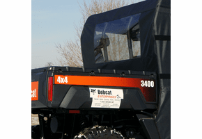 Falcon Ridge Soft Rear Panel - Bobcat 3400