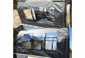 Falcon Ridge Soft Rear Panel - Full Size Polaris Ranger Crew
