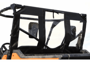 Falcon Ridge Soft Rear Panel - Honda Pioneer 1000