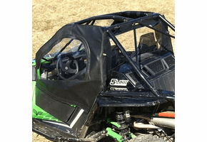 Falcon Ridge Soft Upper Doors and Rear Window - 2017 Arctic Cat Wildcat 1000 | X