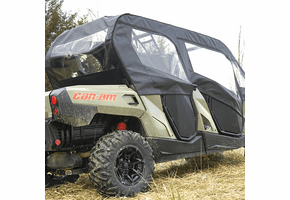 Falcon Ridge Soft Upper Doors and Rear Window - Can Am Commander Max