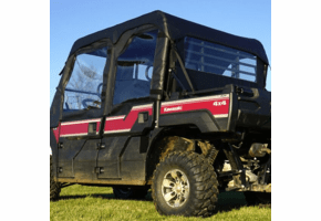 Falcon Ridge Soft Upper Doors, Middle and Rear Windows - Kawasaki Mule Pro-FXT | DXT