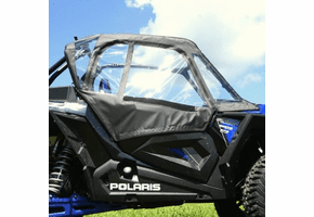 Falcon Ridge Soft Upper Doors - Polaris RZR XP Turbo S