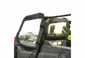 Falcon Ridge Soft Upper Front Doors and Middle Window - Honda Pioneer 700 4