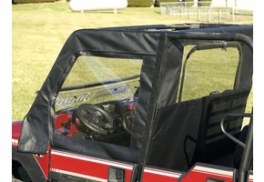 Falcon Ridge Soft Upper FRONT Doors and Middle Window - Kawasaki Mule Pro-FXT | DXT