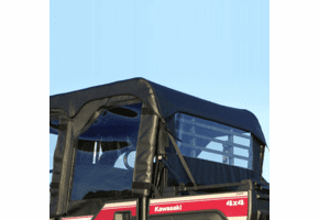 Falcon Ridge Soft Upper REAR Doors and Rear Window - Kawasaki Mule Pro-FXT | DXT