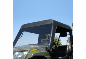 Falcon Ridge Soft Windshield - 2006-11 Arctic Cat Prowler w| Square Bars