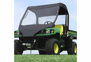 Falcon Ridge Soft Windshield and Top - 2004-10 John Deere Gator HPX | XUV 620i | 625i | 825i | 850d | 855d
