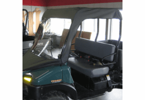 Falcon Ridge Soft Windshield and Top - Bush Hog Trail Hand 4400