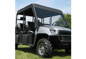 Falcon Ridge Soft Windshield and Top - Full Size Polaris Ranger Crew