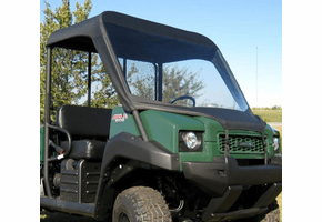 Falcon Ridge Soft Windshield and Top - Kawasaki Mule 3000 | 3010 | 4000 | 4010
